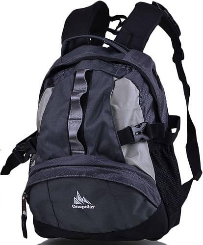 Прочный детский рюкзак ONEPOLAR (ВАНПОЛАР) W1013-grey