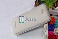 Чехол силиконовый TPU матовый HTC Desire 616 Dual Sim белый