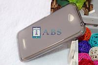 Чехол силиконовый TPU матовый HTC Desire 616 Dual Sim серый