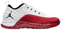 Мужские кроссовки Nike Air Jordan Trainer Prime Gym Red (найк аир джордан трейнер прайм, белые/красные)