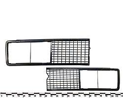 Решётка радиатора ВАЗ 2106 комплект чёрная. 2106-8401012/13-02 (Сызрань)
