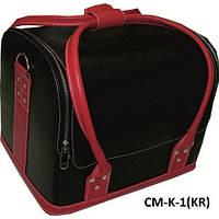 Чемодан, маникюрная сумка для мастера, кож.зам, черный цвет, фото 1