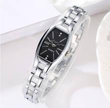 Стильные женские часы под серебро