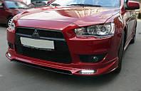 Накладка переднего бампера Zodiaк-Style Mitsubishi Lancer X (2007- )