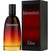 Christian Dior Fahrenheit EDT 100 мл, Original size мужская туалетная вода