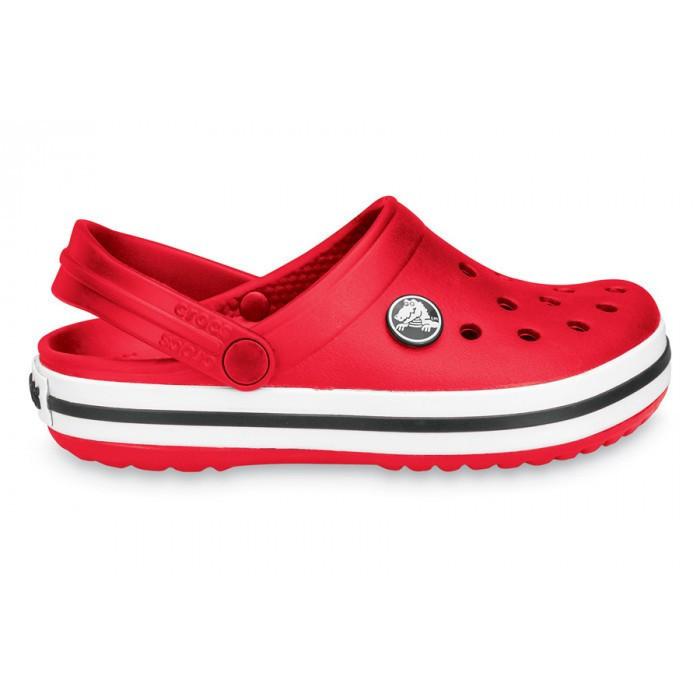 Кроксы летние Crocs Crocband красные 42 разм.