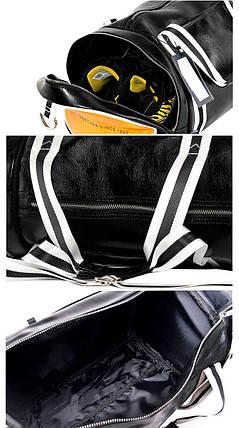 Спортивная сумка And The Like Classic черная eps-10022, фото 2
