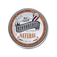Помада NATURAL для волос кремообразная классическая 100 мл BEARDBURYS