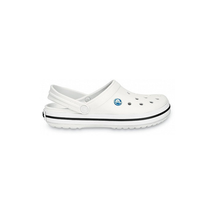 Кроксы летние Crocs Crocband белые 43 разм.