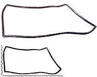 Уплотнитель лобового стекла ВАЗ 2108, 2109, 2113, 2114, 2115. 2108-5206054-01Р (БРТ)