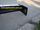 Бампер Ваз 2107 передний с хромом без кронштейнов  (производитель Пластик, Россия), фото 5