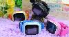 Умные детские часы Smart Baby Watch Q90 с GPS трекером (Оригинал) темно синие, фото 4