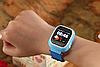 Умные детские часы Smart Baby Watch Q90 с GPS трекером (Оригинал) темно синие, фото 5
