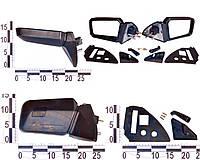 Зеркало правое, левое ВАЗ 2109, 2108, 21099 с уголками и винтами антиблик, комплект 21093-8201004-00 (ДААЗ)