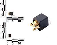 Реле 5-ти контактное 12v (30А, резистор). 752.3777.000 (АВАР)