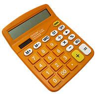 Калькулятор Clton CL-837 Оранжевый