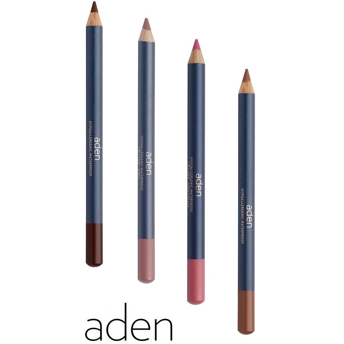 Карандаш для губ Aden Cosmetics Lip Liner Pencil