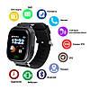 Умные детские часы Smart Baby Watch Q90 с GPS трекером темно-синие оригинал, фото 10