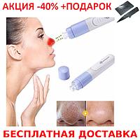 Аппарат вакуумный очиститель лица, Вакуумный очиститель SPOTCLEANER Face Pore Cleaner +Нож Визитка