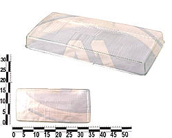 Стекло фары ВАЗ 2105, 07 левой. 21050-3711071-15 (ESER)