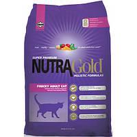 Холистик корм для кошек Nutra Gold Finicky 7.5 кг