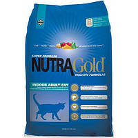 Холистик корм для кошек Nutra Gold Indoor Adult 7,5 кг