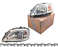 Фара ліва LOGAN L90 світла оригінал алюмінієвий 676512.069 (Рязань)