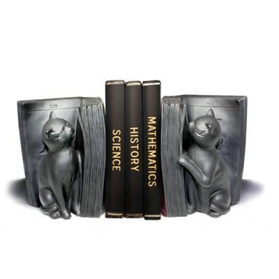"""Держатель - подставка для книг """"Любопытные кошки"""" черные купить по самой выгодной цене"""