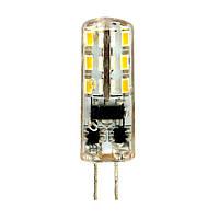 Лампа светодиодная LEDEX G4 (1,5W, 4000K, 12V AC-DC) (100127) чип: Epistar