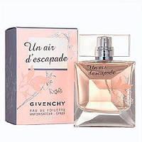 Givenchy Un Air d'Escapade туалетная вода 100 ml. (Живанши Ун Аир Де'Эскападе)