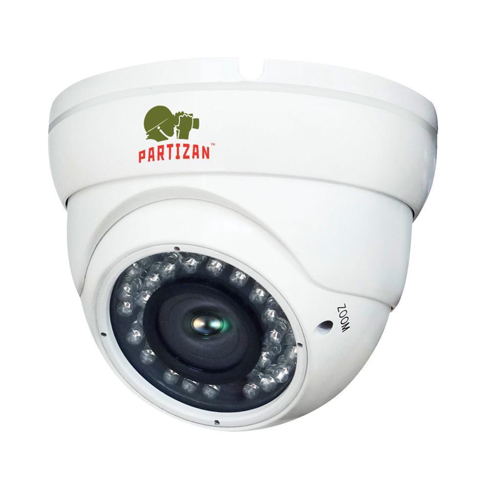4.0 MP AHD Варифокальная камера PARTIZAN CDM-VF37H-IR super-hd 4.2