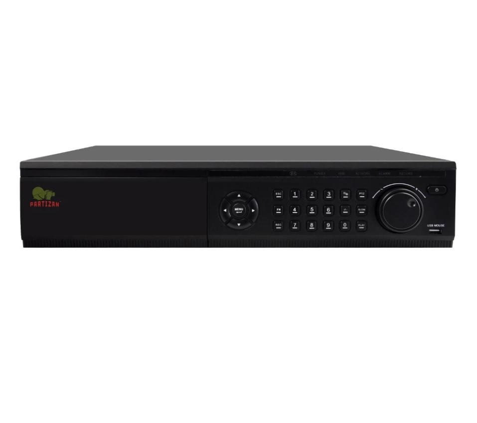 Видеорегистратор 5.0MP для 24 камер PARTIZAN NVT-2454 2.0