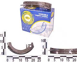 Колодки тормозные задние Москвич 412, комплект, * (Начало). 403-3501090