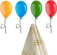 Набор крючков Balvi для полотенец Воздушные шарики (4 шт.)