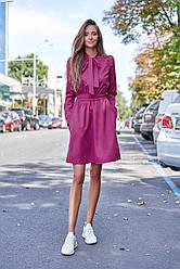 Женственное и романтичное платье с длинным рукавом в 6ти цветах JD Лалли