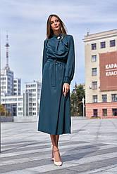 Прекрасное  платье-миди в 6ти цветах JD Сандра