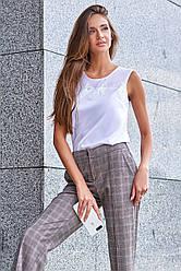 Актуальная блуза прямого кроя  в 2х цветах JD Сафина