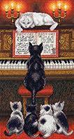 Набор для вышивки крестом Урок музыки