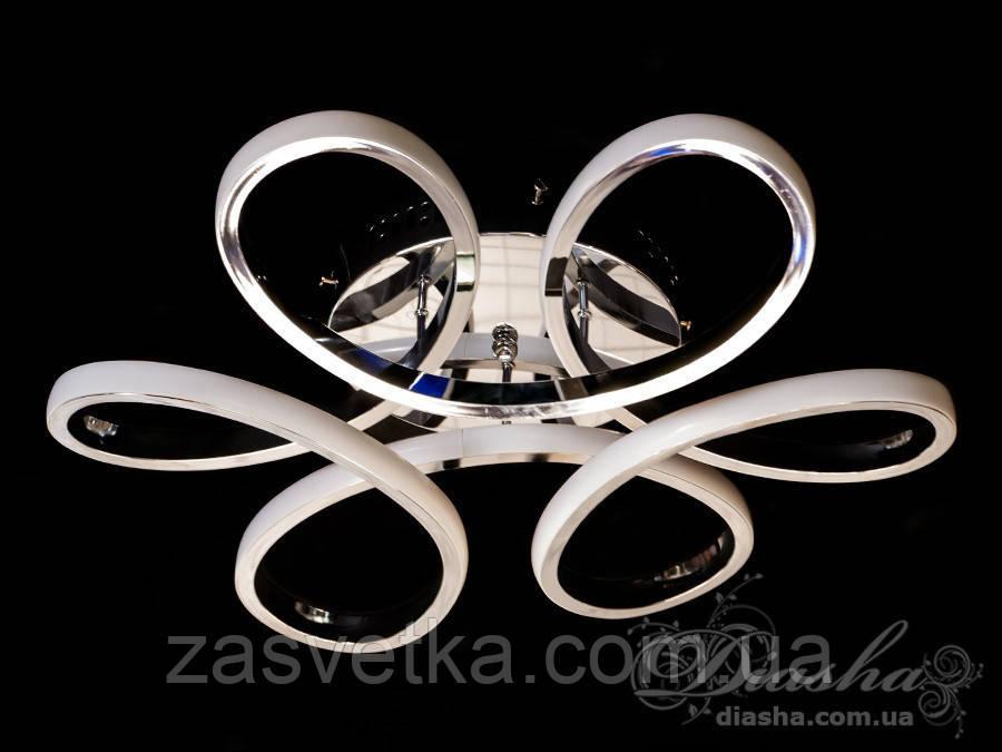 Потолочная светодиодная люстра 45W MX9976/500 C (хром,золото)