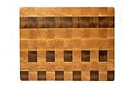 Кухонная торцевая разделочная доска  40х31х3,7 см  1006, фото 1