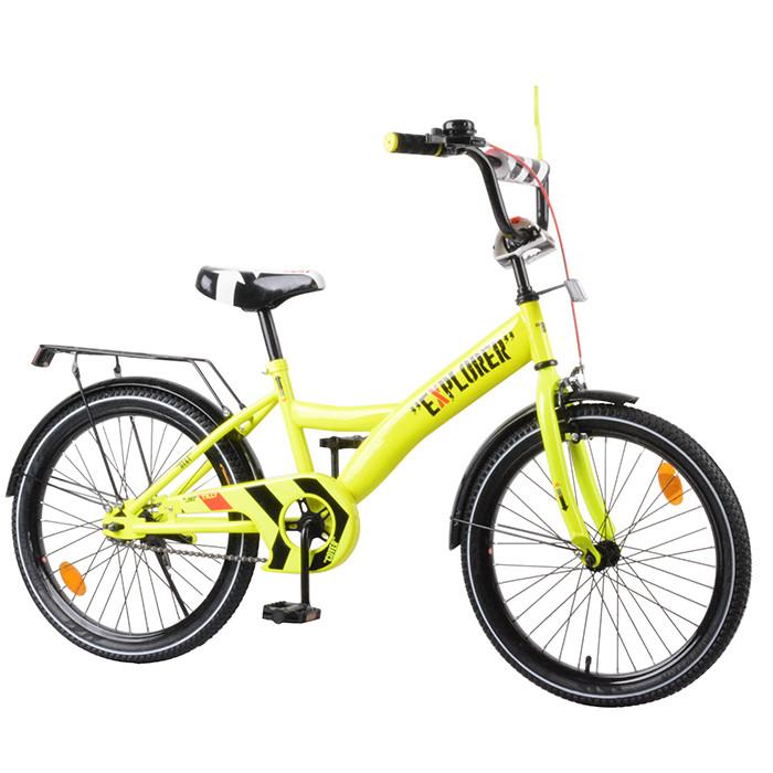 Велосипед детский EXPLORER 20 T-220112 Yellow Гарантия качества Быстрая доставка