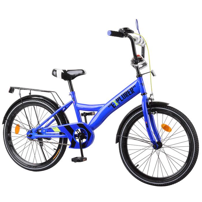 Велосипед детский EXPLORER 20 T-220111 Blue Гарантия качества Быстрая доставка