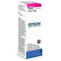 Чернила Epson L110, L120, L300, L210, L350, L355, L550, L555, Magenta (C13T66434A)
