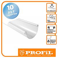 Ринва Profil 130 біла 3м