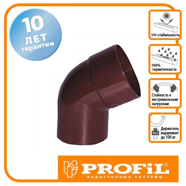 Коліно Profil 100 коричневе