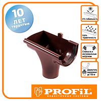 Лійка Profil ліва L 130 коричнева