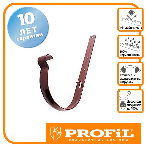 Держак ринви Profil метал. 90 коричневий