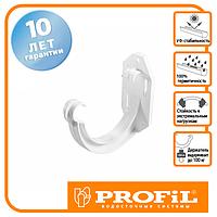 Держак ринви Profil пласт. 90 білий