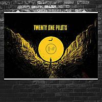 "Постер ""Крылья"". Twenty One Pilots, 21 Pilots. Размер 60x42см (A2). Глянцевая бумага"