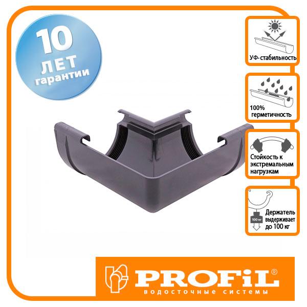 Кут Profil внутрішній 130 графітовий W 90°